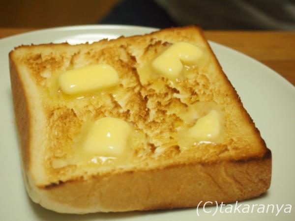 乃が美のトースト