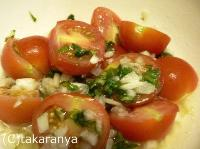oisix バジルとトマトのサラダ
