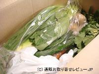 無農薬野菜のミレーお届けの様子