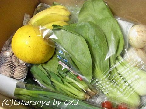 らでぃっしゅぼーやの有機・低農薬野菜セット「ぱれっと」