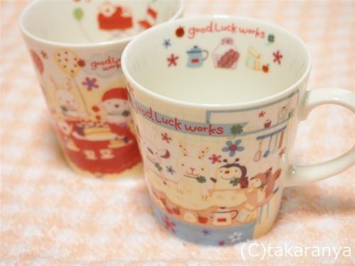 グッドラックGoodLuckの可愛いマグカップ
