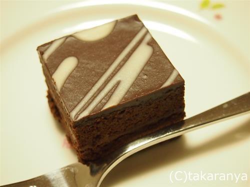 大阪ドルチェピアットのチョコレートケーキカレ