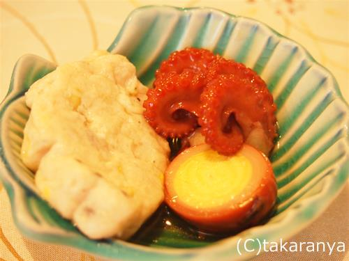 飯蛸の煮物