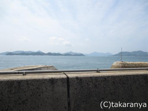 三原の海を左手に見ながらドライブ