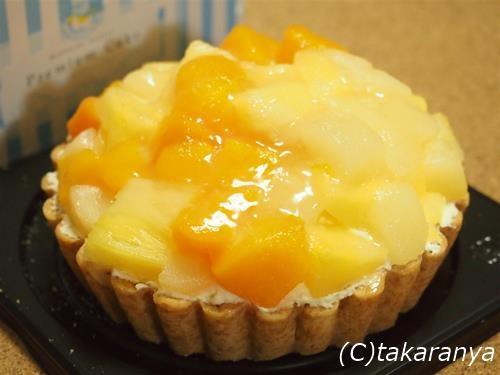 3種のフルーツチーズタルト:クレストジャパン