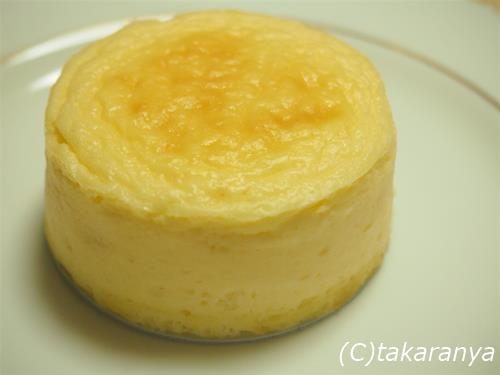 北海道ジョリクレールのチーズスフレ