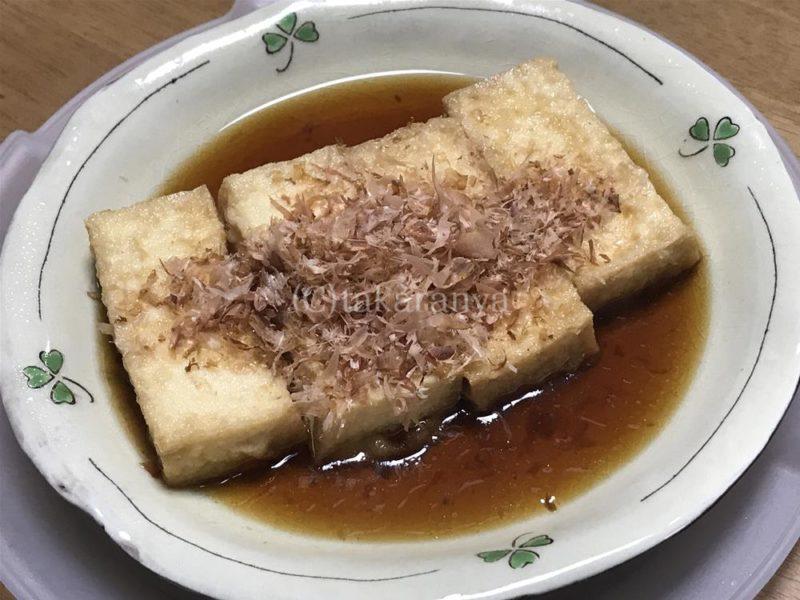 厚揚げなんちゃって揚げ出し豆腐